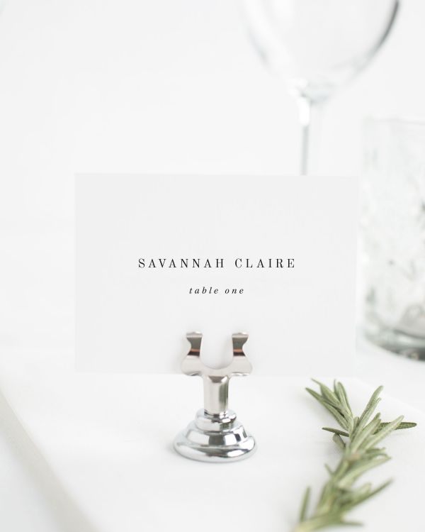 Savannah Place Cards