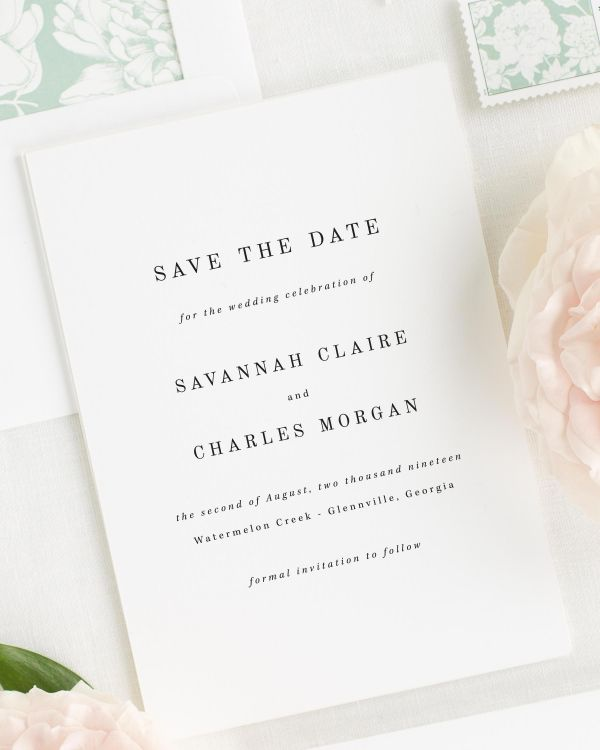 Save The Date Quickview Savannah Cards