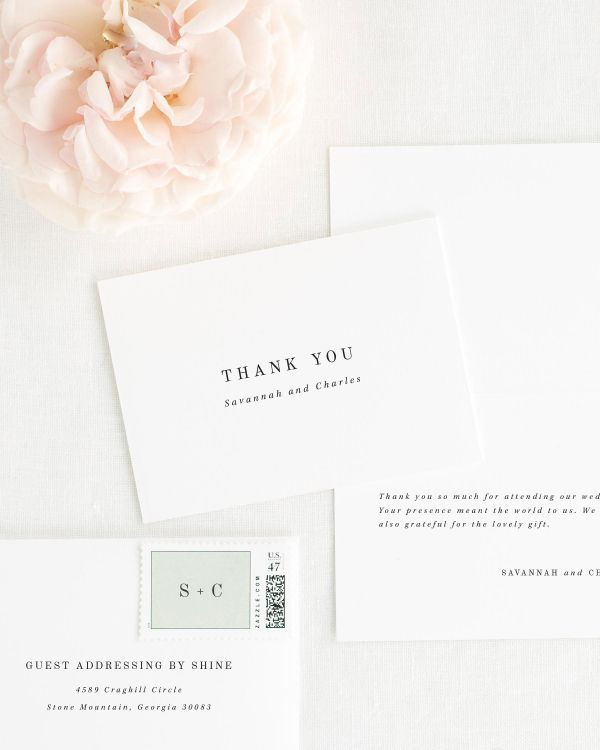 Savannah Thank You Cards