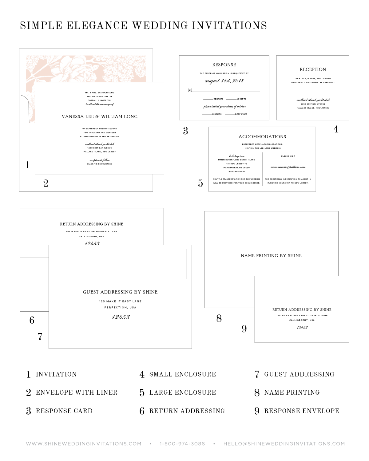 Wedding Invitations Diagram