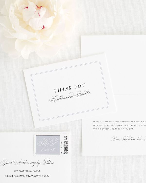 Simply Classic Thank You Cards