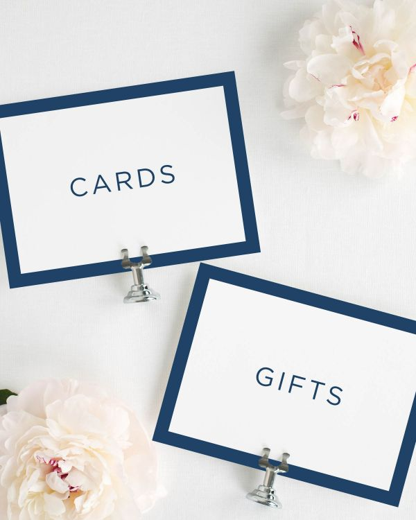 Sophisticated Modern Wedding Signs Package