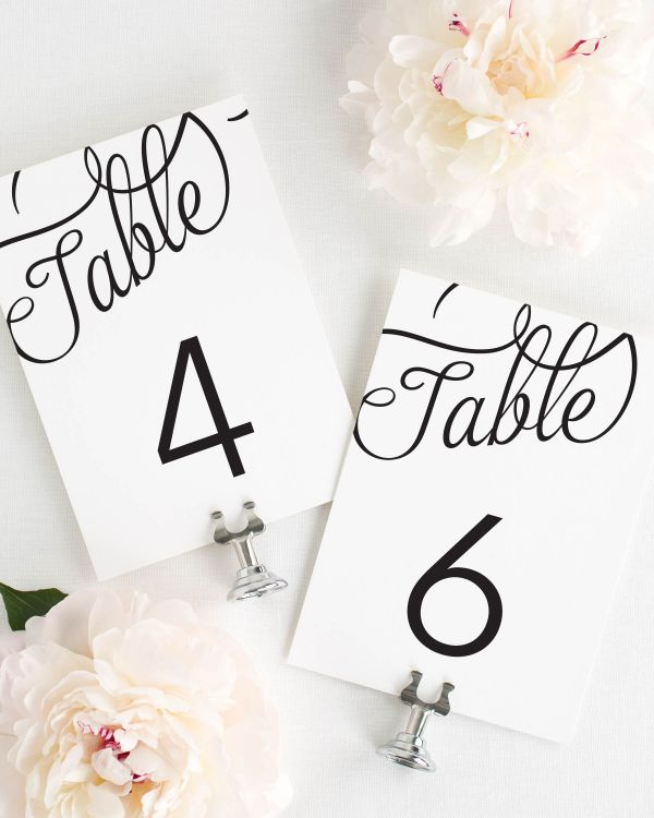 Statement Script Table Numbers