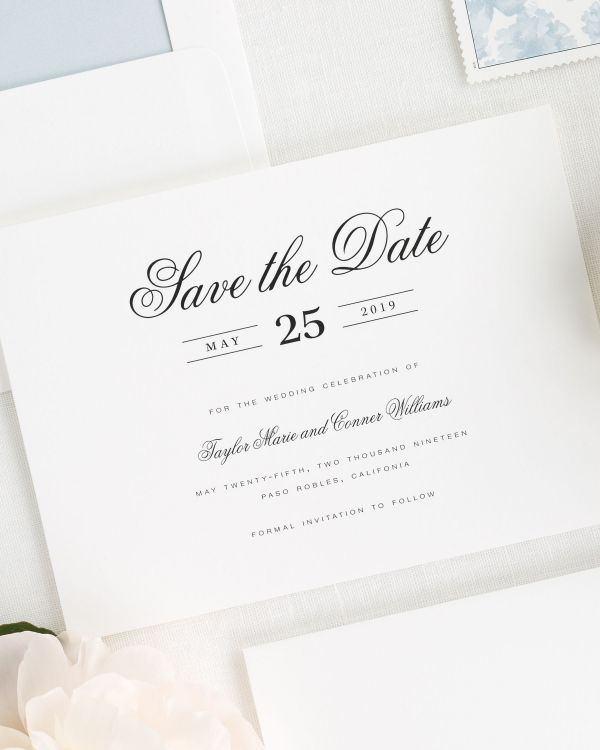 Taylor Save the Date Cards