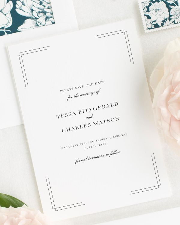 Tessa Save the Date Cards