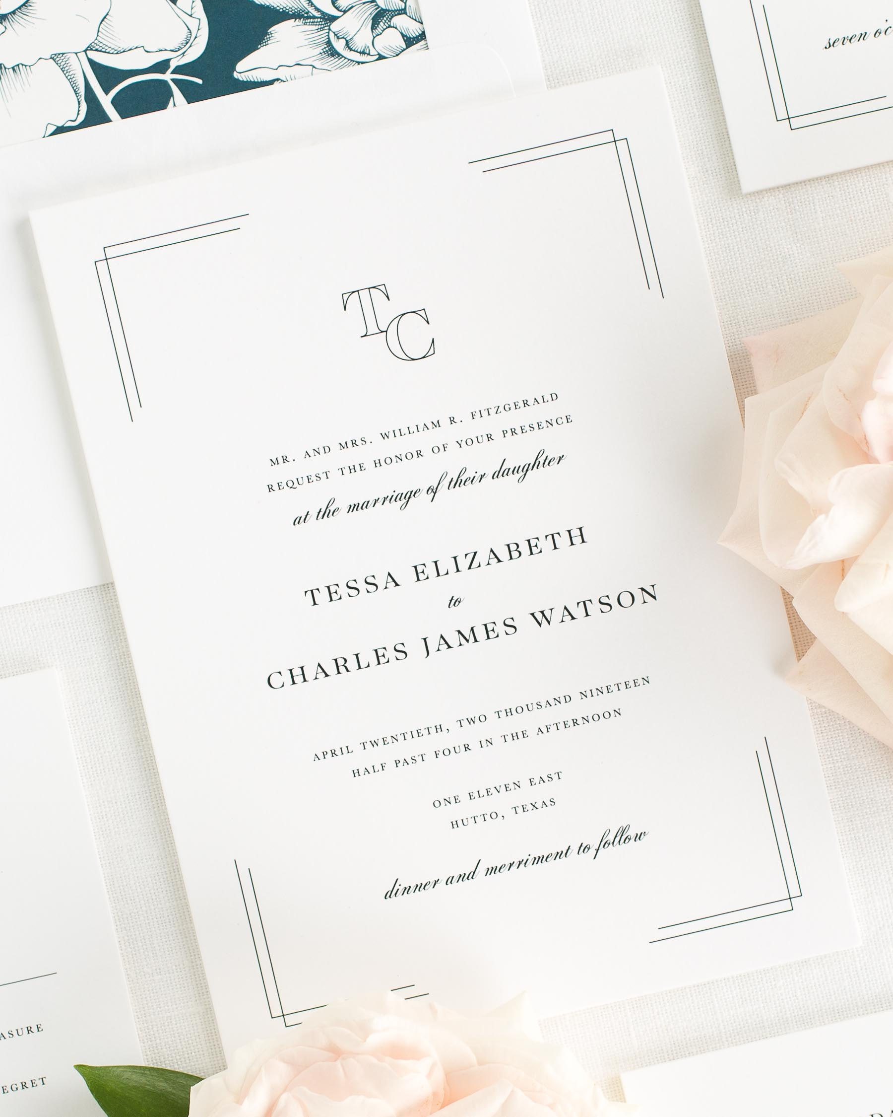 Tessa Wedding Invitations
