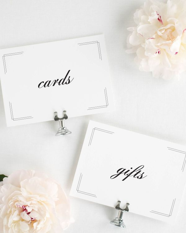Tessa Wedding Signs Package