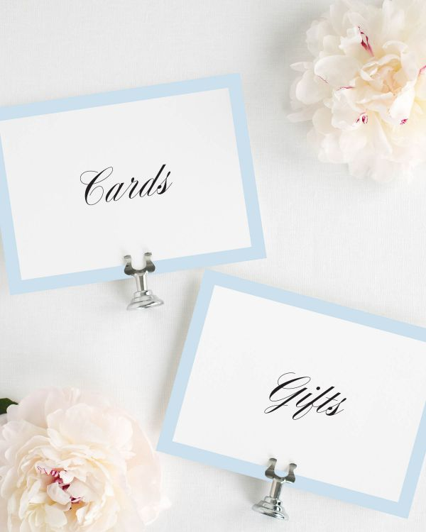 Upscale Monogram Wedding Signs Package