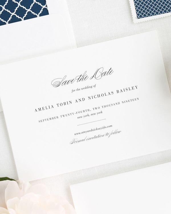 Upscale Script Save the Date Cards