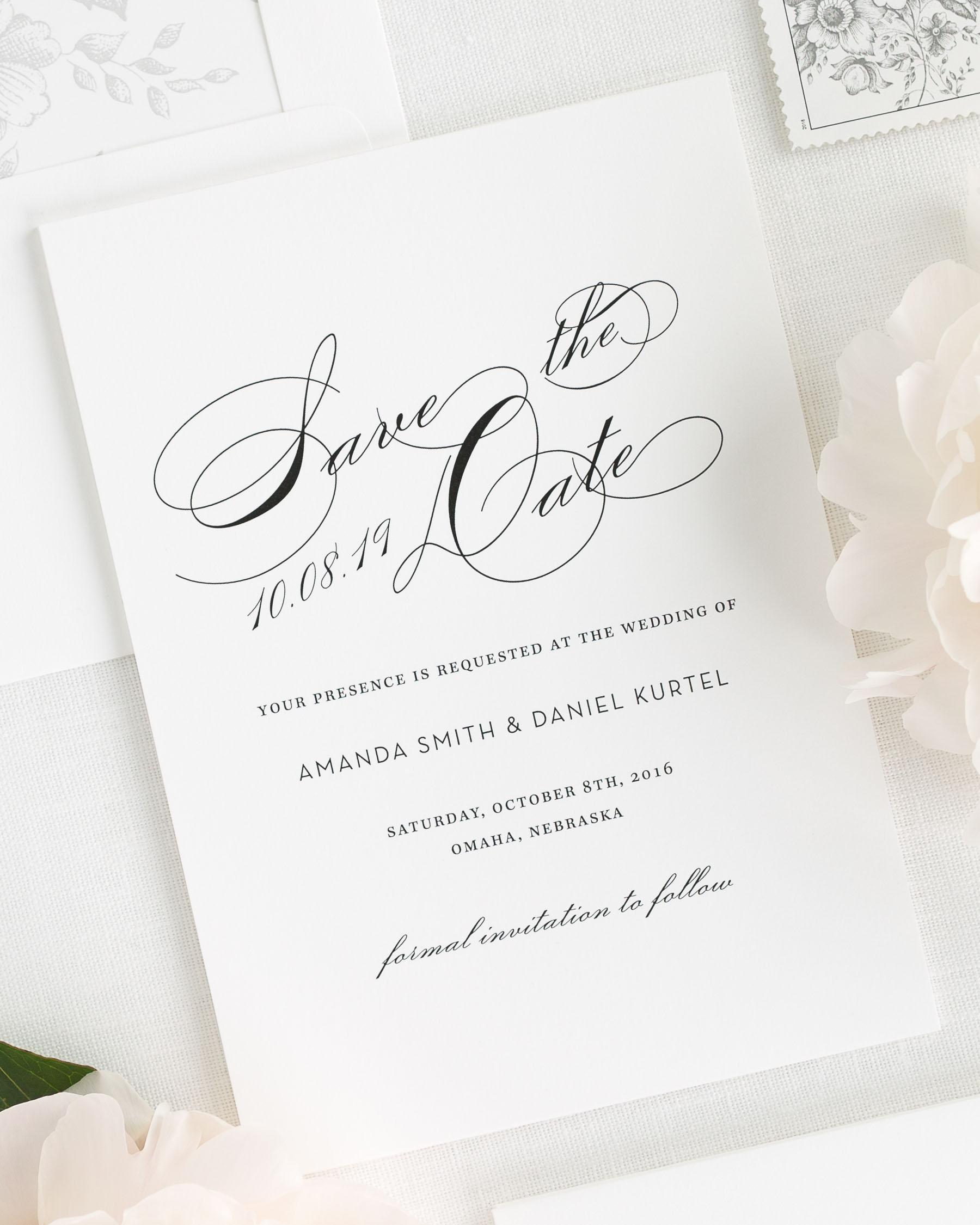 Save the date cards in Sydney