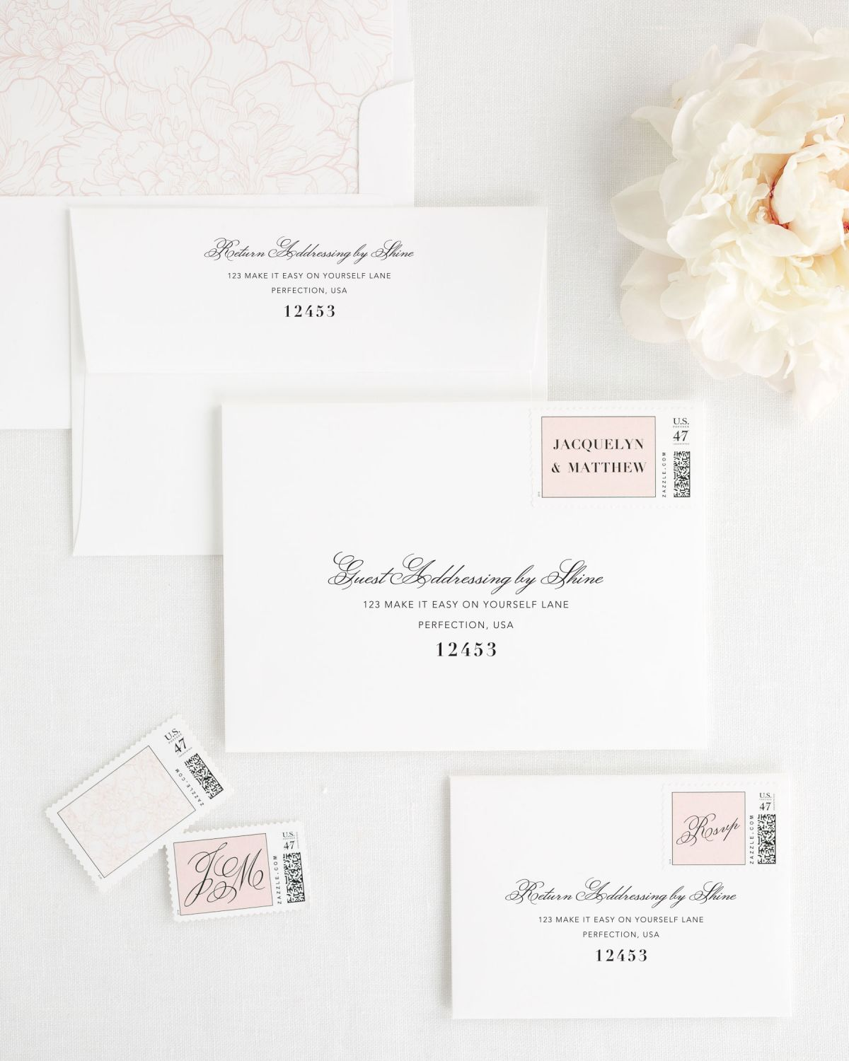 Vintage Romance Wedding Invitations - Wedding Invitations by Shine
