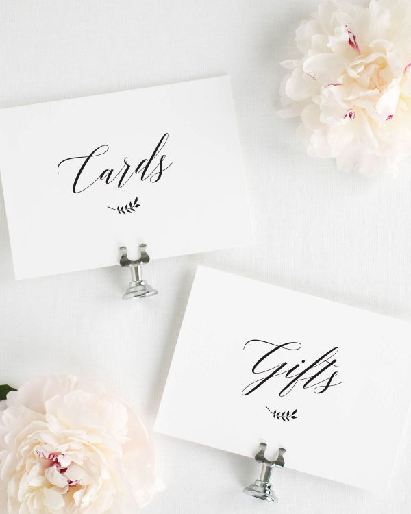 Wreath Monogram Wedding Signs Package