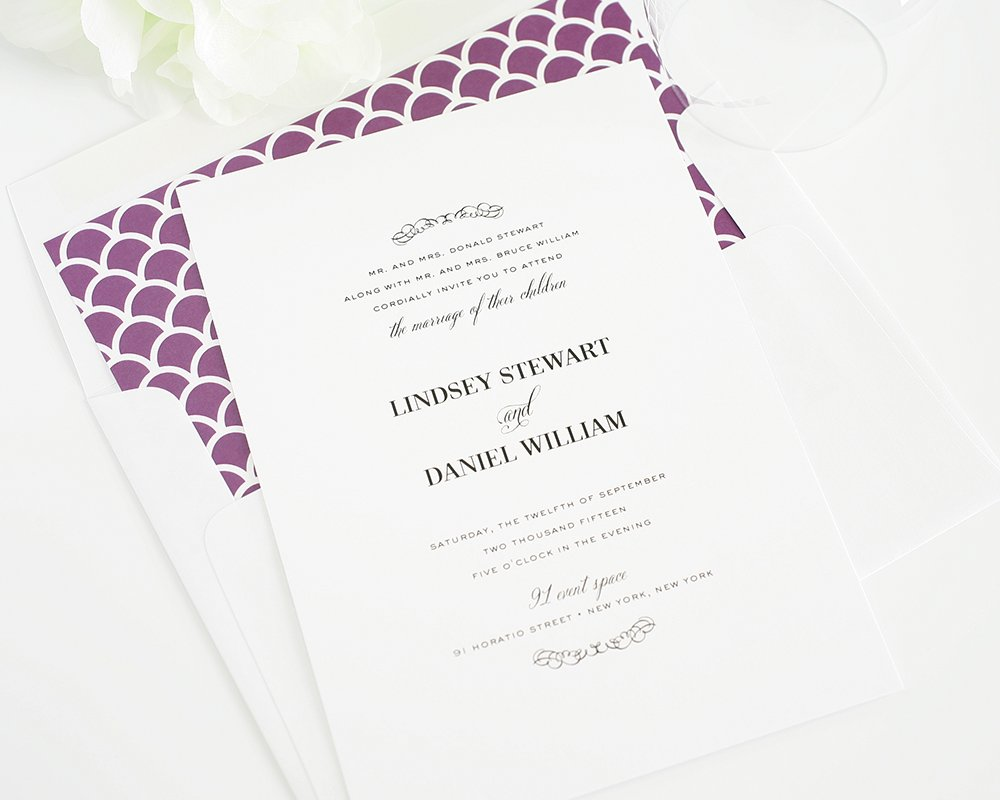 Wedding Invitations With A Chic Cottage Style