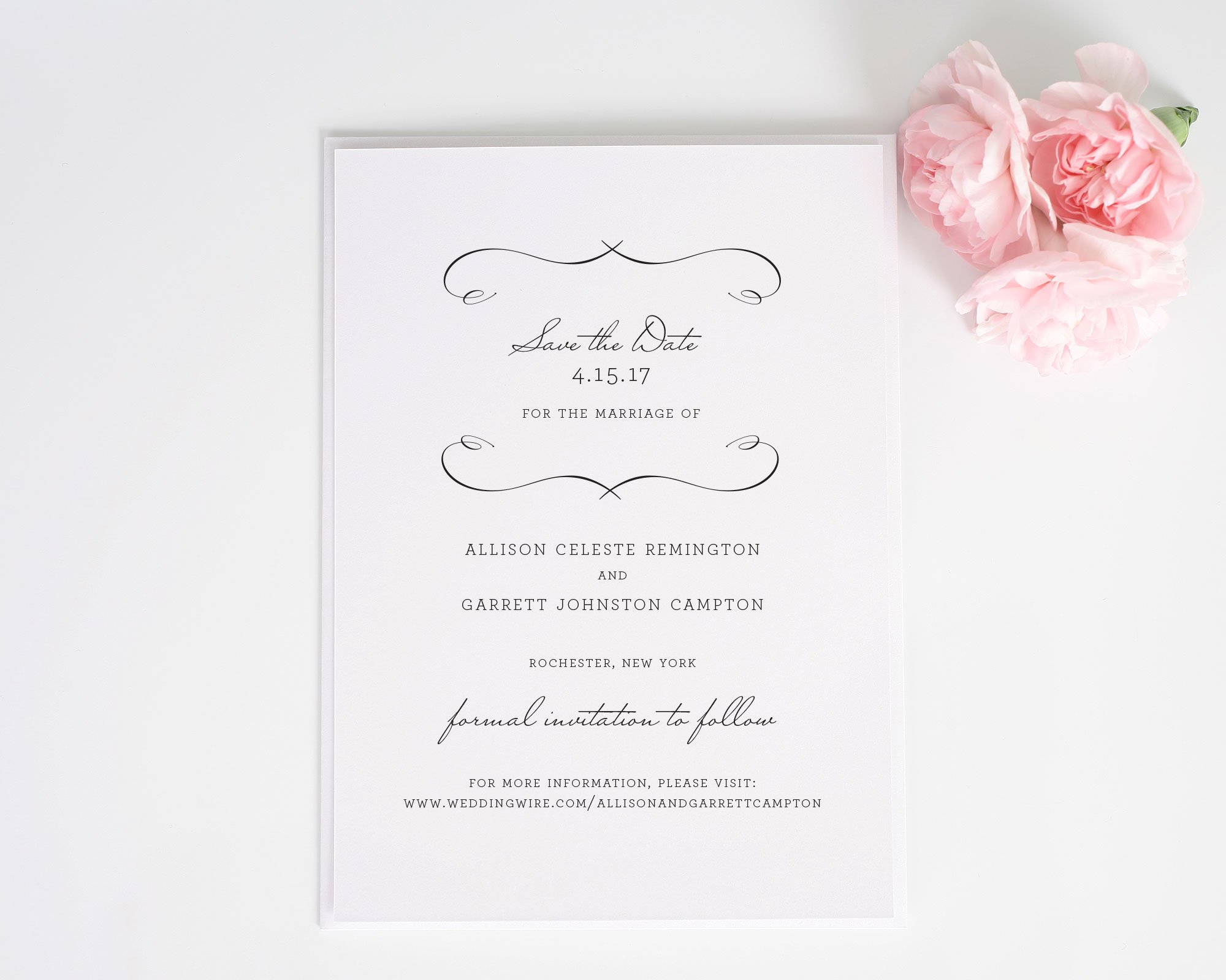 French Country Save the Date Cards - Save the Date Cards by Shine