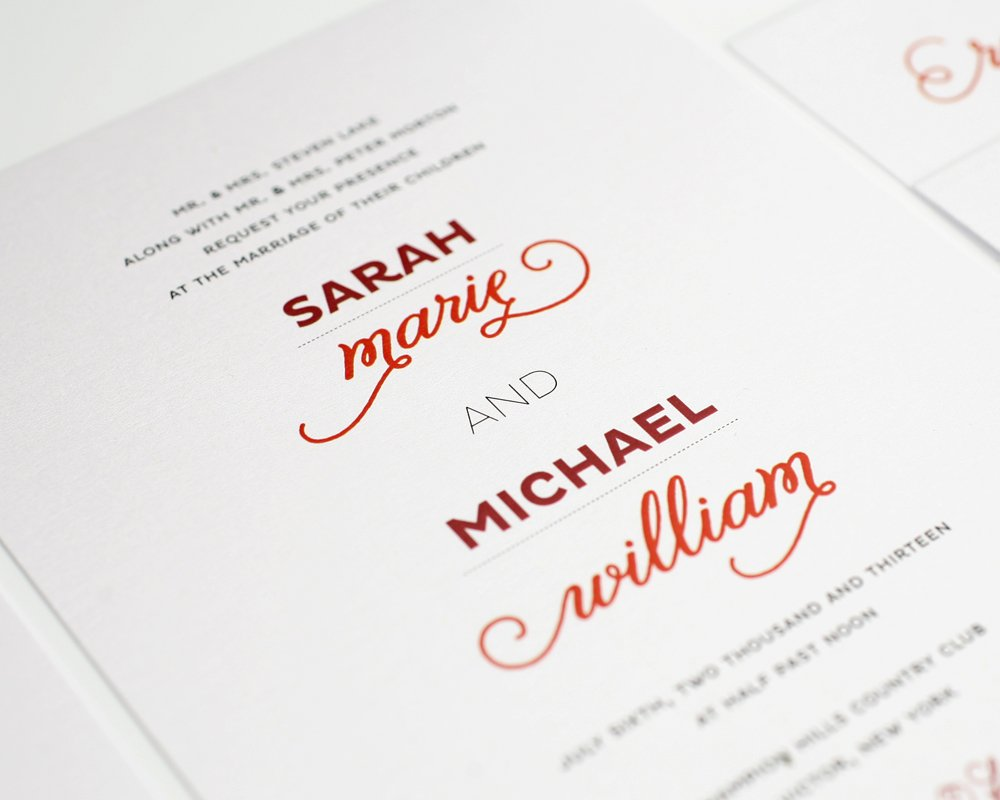 Black Red Wedding Invitations for great invitations sample