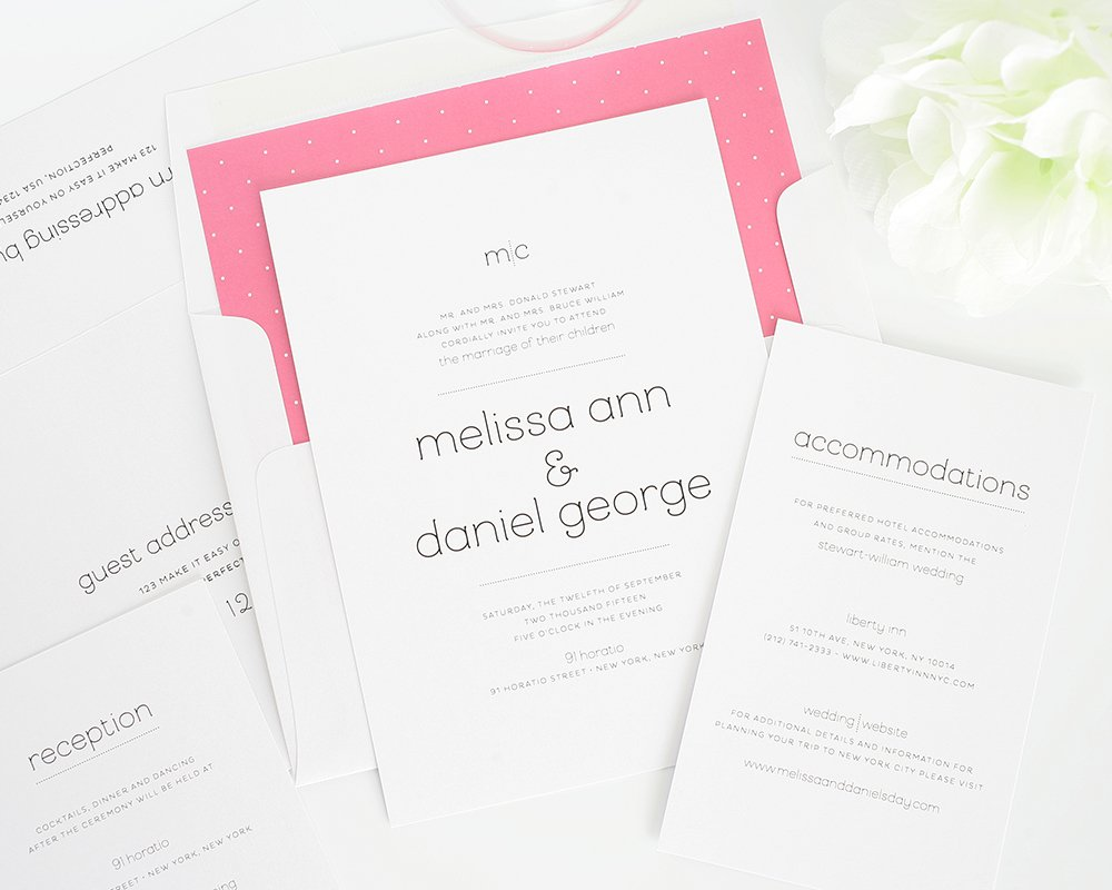 Playful Script Wedding Invitations - Wedding Invitations by Shine