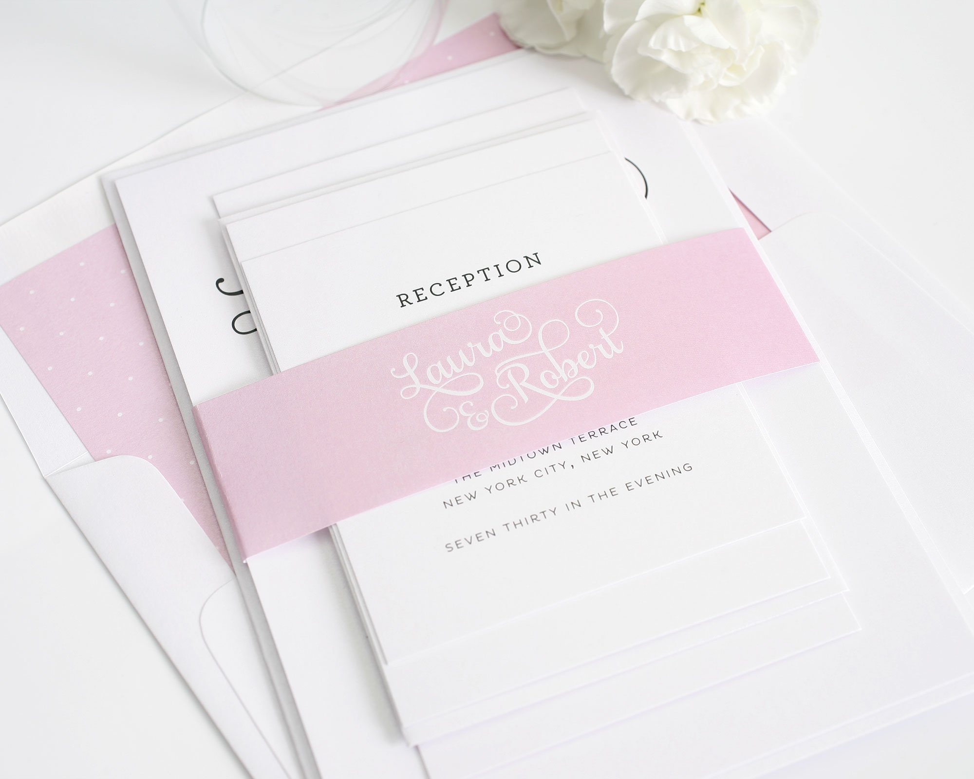 sweet romance wedding invitations wedding invitations by shine